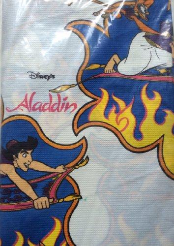 Disney's Aladdin's Carpet Ride Adventure Party Tablecloth (Arabian Party Decorations)