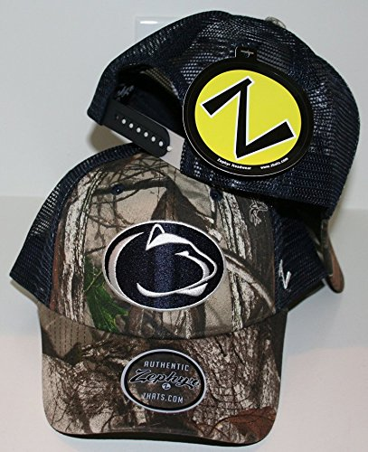 Amazon.com   ZHATS Penn State Nittany Lions Camo Recon Trucker Mesh ... cef4aef3a713