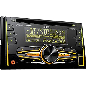 JVC KW-R920BTS Double DIN Bluetooth In-Dash Car Stereo, SiriusXM Tuner Included