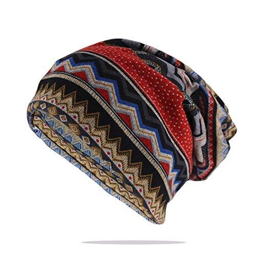 GOLDEN HERON Unisex Women Men Winter Warm Cap Knit Winter Warm Ski Crochet Slouch Hat Cap Beanie Oversize Soft Warm Knitted Beanies
