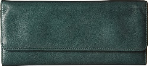 Hobo Womens Leather Sadie Continental Clutch Wallet (Jasper) by HOBO