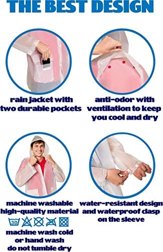 Amazon.com: Lluvia Poncho: Clothing