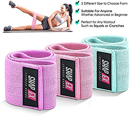 Resistance Bands Exercise Bands Set Strength Booty Fabric Workout Bands M-SP147