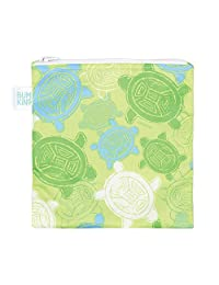 Bumkins Reusable Sandwich and Snack Bag, Turtle, Green, 1-Pack