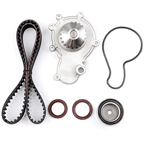 ECCPP Timing Belt Water Pump Kit for 1995-2005 Chrysler Neon Cirrus Dodge Neon Stratus Plymouth Neon Breeze 2.0L L4 SOHC 16 Valve VIN Code C Dodge Neon Sohc Engine