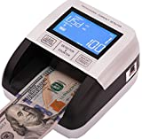 Professional Counterfeit Bill Detector ''4 Way Insertion'' Portable Multi Currency Detector. 100% Counterfeit Notes Will Be Detect with 6 Analysis: MG/UV/IR/MT/2D/PQ