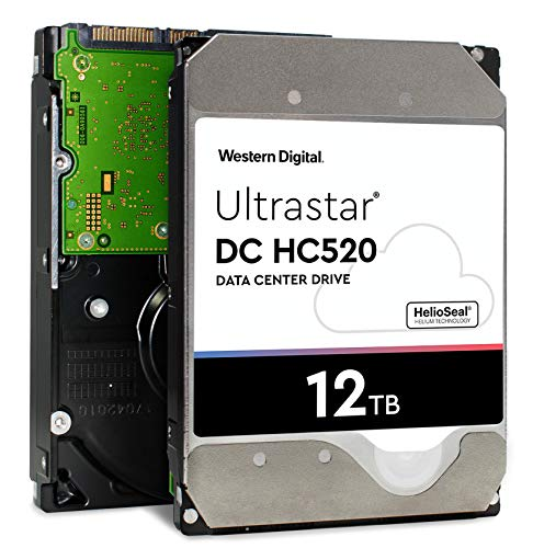 HGST - WD Ultrastar DC HC520 HDD | HUH721212ALE600 | 12TB 7.2K SATA 6Gb/s 256MB Cache 3.5-Inch | ISE 512e | 0F30144 | Helium Data Center Internal Hard Disk Drive by HGST (Image #6)