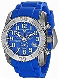 Swiss Legend Men's 11876-TI-03 Commander Analog Display Swiss Quartz Blue Watch