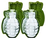 3d Bath Bomb Molds Skaxi Grenade Silicone Mold, Monster-Sized Ice Cube, Set of 2