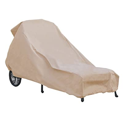 Hearth & Garden Chaise Lounge Cover, Large : Patio Chaise Lounge Covers : Garden & Outdoor