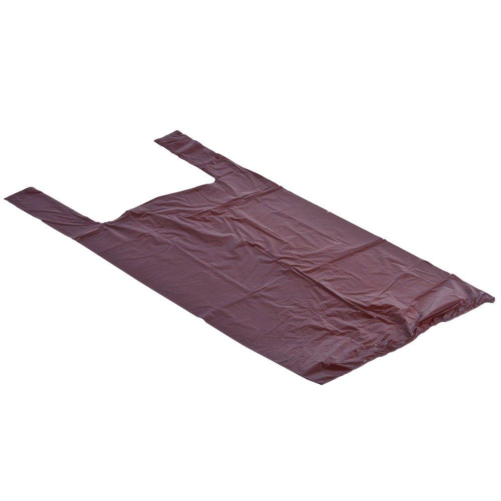 1 / 6サイズブラウンTシャツバッグ – 1000 /ケース B01LJWF610