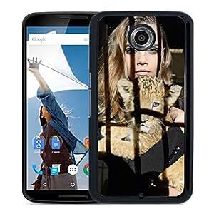New Custom Designed Cover Case For Google Nexus 6 With Cara Delevingne Girl Mobile Wallpaper(81).jpg