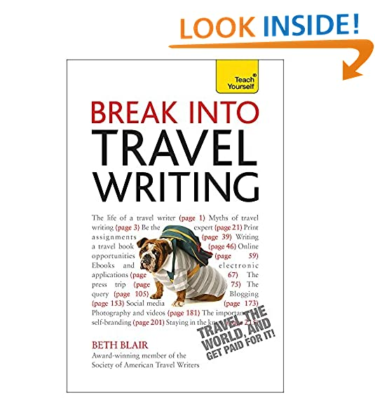how to get into travel writing