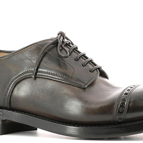SILVANO SASSETTI HOMME 9233832U1 MARRON CUIR CHAUSSURES À LACETS