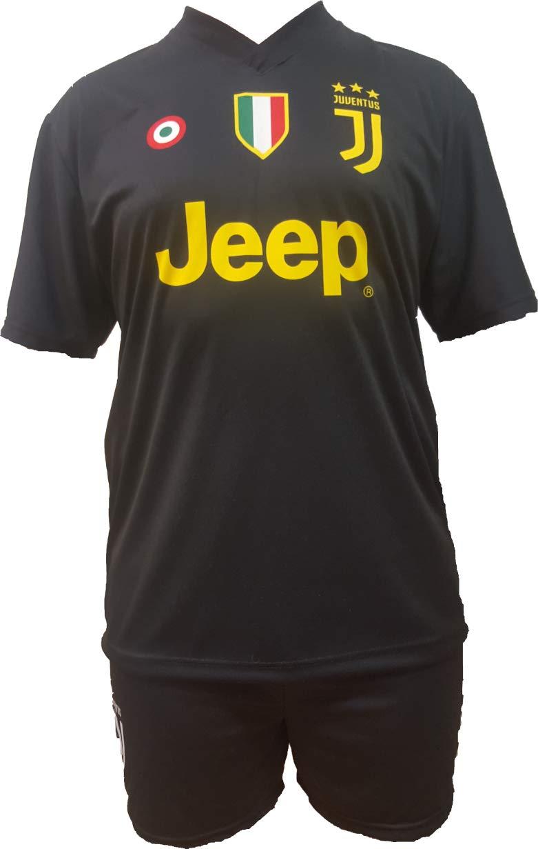 Conjunto Equipacion Tercera Camiseta Pantalones Futbol Juventus Paulo Dybala 10 Replica Oficial Autorizado 2018-2019 Niños (2,4,6,8,10,12 año) Adultos ...