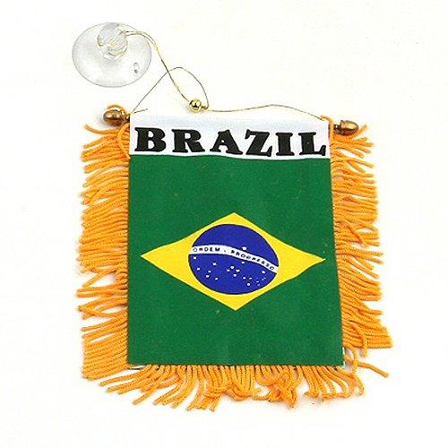 [World Mini Banner-Brazil] (Brazil Costume Male)