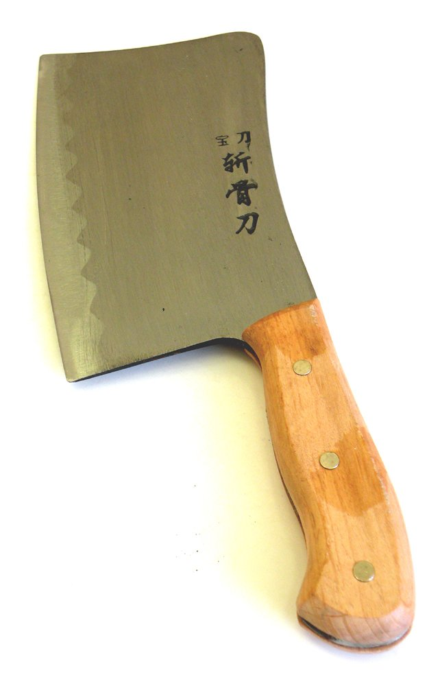 Professional Heavy Duty Meat Cleaver Butcher Bone Axe Full Tang Chef Chopper Knife,High Carbon Steel,