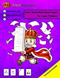 Royal Elements Waterslide Decal Paper - Clear for
