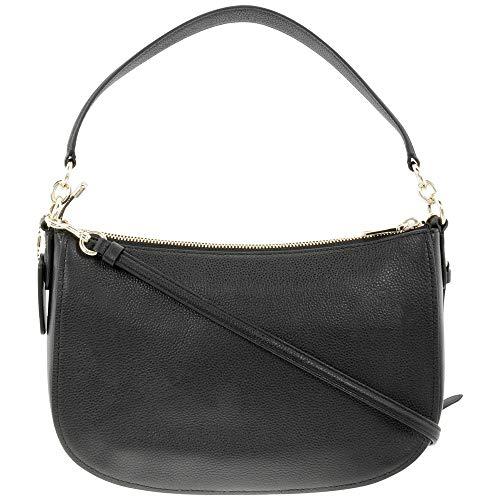 Buy coach black hobo leather
