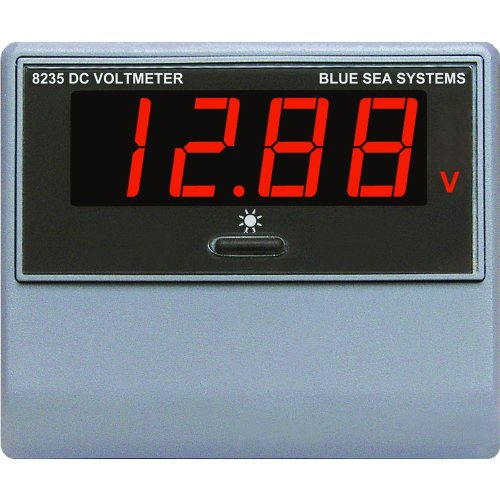 Blue Sea 8235 DC Digital Voltmeter by Blue Sea Systems