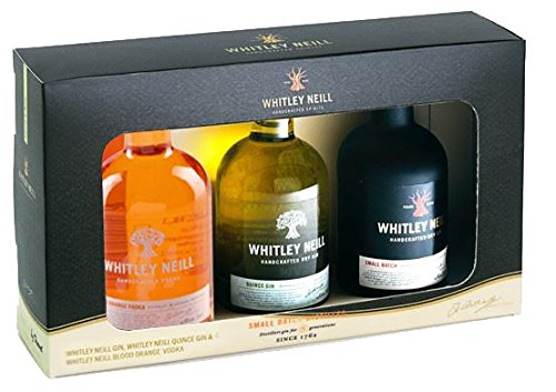 Whitley Neill Gin Quince Gin Blood Orange Vodka 3x5cl Gift Set