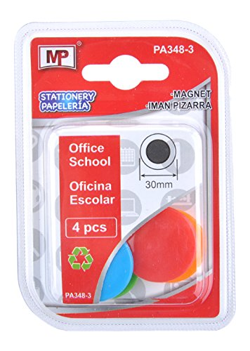 Amazon.com : MP PA348-3 - Pack of 4 whiteboard Magnets, 30 ...