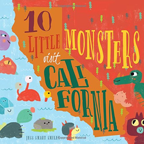 10 Little Monsters Visit California (5 Facts About The Golden Gate Bridge)