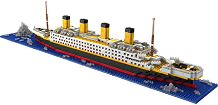 Titanic Modle Building Blocks City Bricks Educational Boys Toy Gift For Children