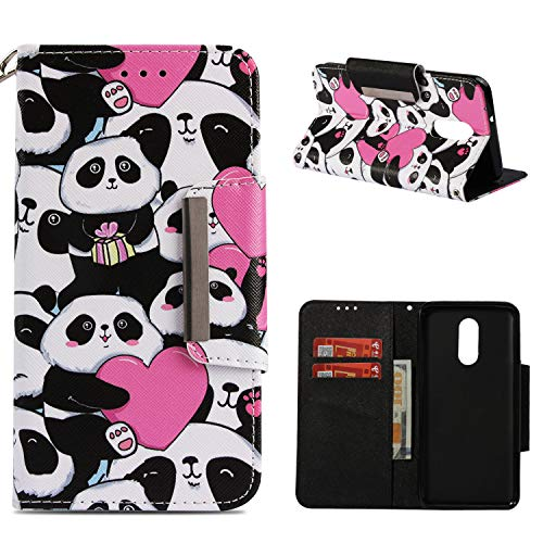 LG Stylo 4 Case,LG Q Stylus Case LG Stylo 4 Plus,Stylus 4 Case,ZERMU Painted Pattern Premium PU Leather Magnetic Wallet Purse Case with Kickstand Card Holder ID Slot and Hand Strap Case for LG Stylo 4