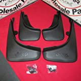 mud flaps for jeep cherokee - 2014 Jeep Cherokee Front and Rear Molded Splash Mud Flap Guard Mopar OEM