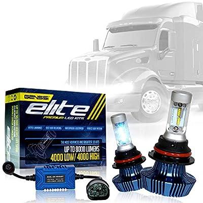 LED Conversion Kit Bulbs for 2000-2016 Peterbilt Truck Headlight Lamp High Low