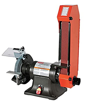 Combo Belt Amp Bench Grinder 8 In Dia 2x48 Amazon Com
