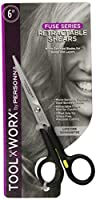 Toolworx Retractable Shears, 6 Inch
