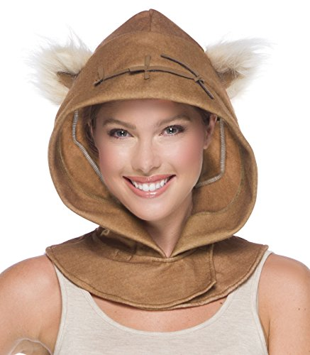 Rubie's Costume Co. Men's Adult Star Wars Ewok Hood, As/Shown, One Size (Ewok Costume Adult)