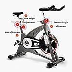 GZMUK-Health-Personal-Care-Cyclette-Home-Gym-stazionario-in-Bicicletta-20kg-volano-Formazione-Fitness-Cardio-Workout-Ideale-Ab-Trainer-Spin-Bike-Attrezzature