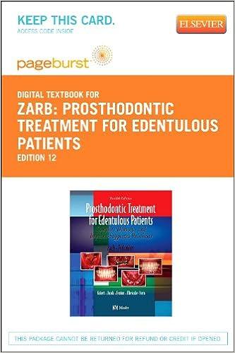Prosthodontic Treatment for Edentulous Patients - Elsevier