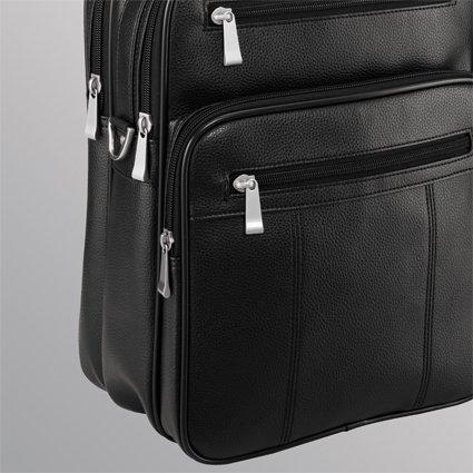 Vuelo umhänger (2) dn715–�?1de Black Alto sintética granulada Bags & More D & N