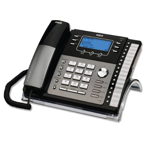 RCA25424RE1 - ViSYS 25424RE1 Four-Line Phone with Caller ID