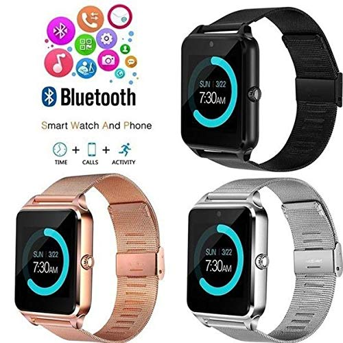 Amazon.com: MTOFAGF Watch Bluetooth Smartwatch Tracker Heart ...