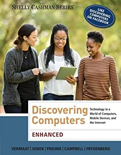 Enhanced Discovering Computers Shelly Cashman Series MindTap Course List