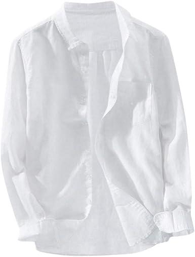 Camiseta de Manga Corta para Hombre, Camisa de Manga Larga de ...