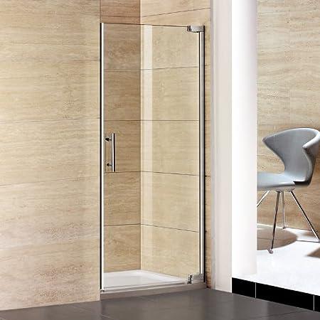 80 x 185 cm Cabina de ducha 8 mm easy clean guardapolvo para puerta de vidrio puertas de ducha y ducha 80 x 70 cm: Amazon.es: Hogar