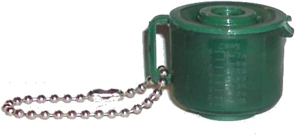 TUPPERWARE EMERALD GREEN ACRYLIC MUG CUP KEYCHAIN KEYRING