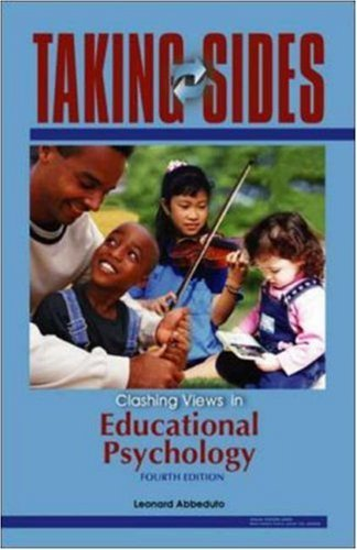 Taking Sides: Clashing Views in Educational Psychology (Taking Sides: Educational Psychology) by Leonard Abbeduto (2005-09-06)