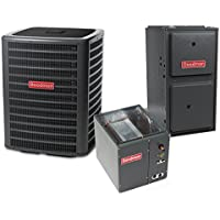 2.5 Ton 14.5 SEER 60k BTU 96% AFUE 2 Stage Variable Speed Goodman Central Air Conditioner & Gas Split System - Upflow