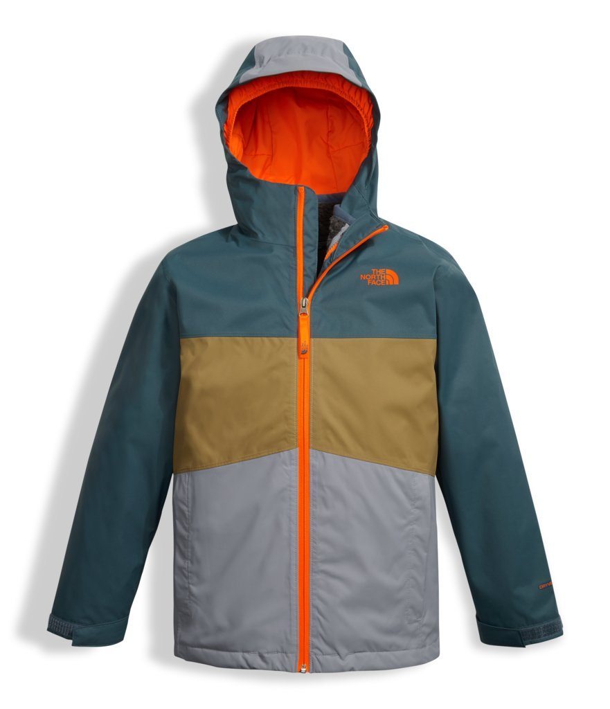 The North Face Boy's Chimborazo Triclimate Jacket - Mid Grey - L (Past Season)