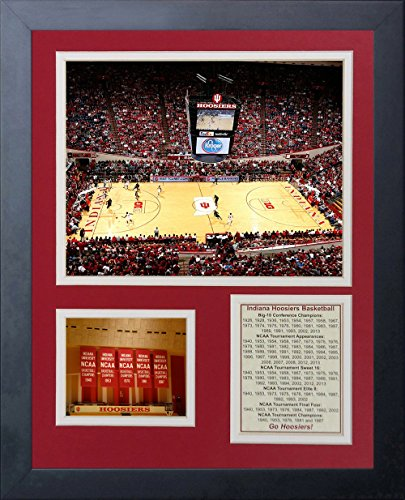 Legends Never Die University of Indiana Assembly Hall Collage Photo Frame, 11