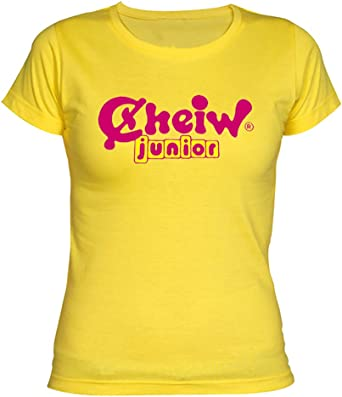 Camisetas EGB Camiseta Chica Cheiw ochenteras 80´s Retro: Amazon ...