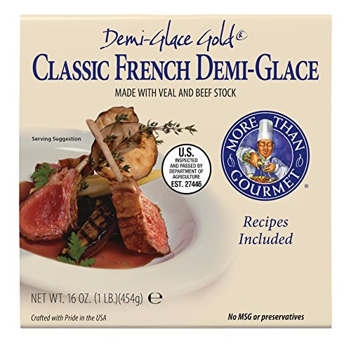 More Than Gourmet Classic French Demi-Glace, 16 Ounce