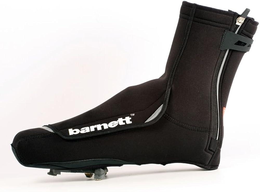 barnett BSP-03 Warm Neoprene Cycling Overshoe, Bike Shoe Covers, Black